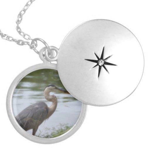Great Blue Heron Custom Jewelry