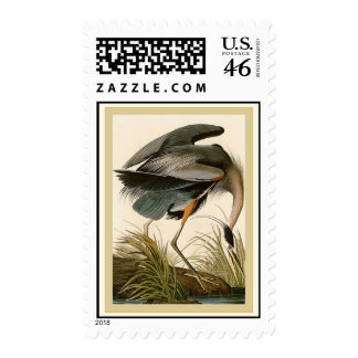 Great Blue Heron Postage Stamp