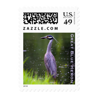 Great Blue Heron Stamps