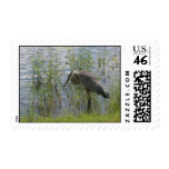 GREAT BLUE HERON POSTAGE STAMPS