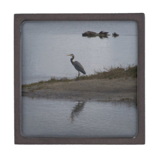 Great Blue Heron Premium Keepsake Box