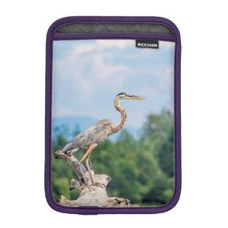 Great Blue Heron Sleeve For iPad Mini