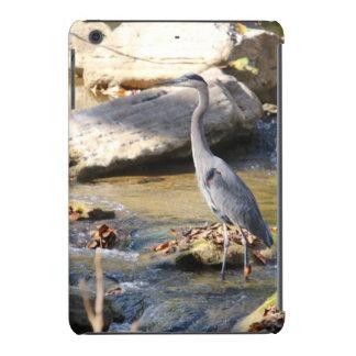 Great Blue Heron standing in creek photo iPad Mini Retina Case
