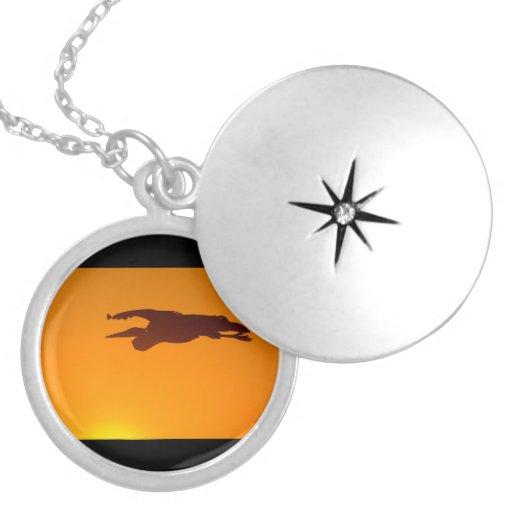 Great Blue Heron Sunset Custom Jewelry