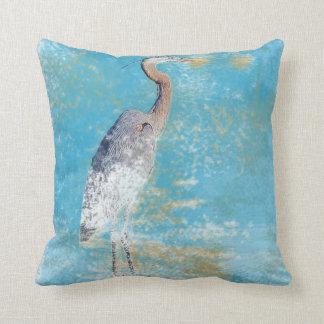 Great Blue Heron | Throw Pillow