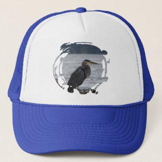 Great Blue Heron Trucker Hat