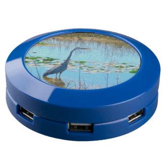 Great Blue Heron USB Charging Station