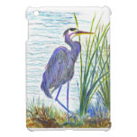 Great Blue Heron - Watercolor Pencil Cover For The iPad Mini