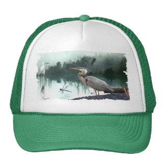 Great Blue Heron & Wilderness Animals Hat