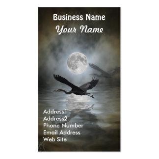 Great Blue Heron Wildlife Business Card