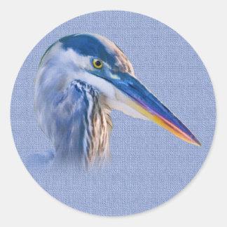 Great Blue Heron Wildlife Sticker