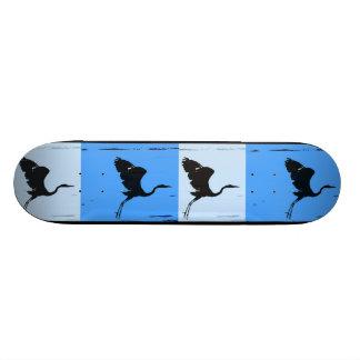 Great Blue Herons Art Skateboard