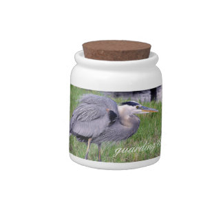 Great Blue Heron's Territory Candy Jar