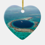 GREAT BLUE HOLE 1 CERAMIC ORNAMENT