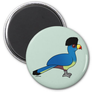 Great Blue Turaco Magnets