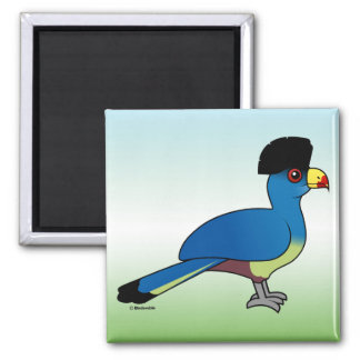 Great Blue Turaco Fridge Magnets
