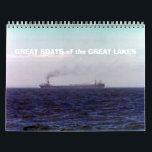 "GREAT BOATS of the GREAT LAKES Calendar<br><div class=""desc"">Calendar</div>"