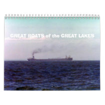 GREAT BOATS of the GREAT LAKES Calendar