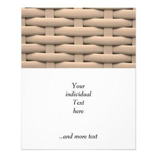 great braided basket,beige flyer