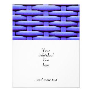 great braided basket,blue flyers