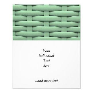 great braided basket green flyers