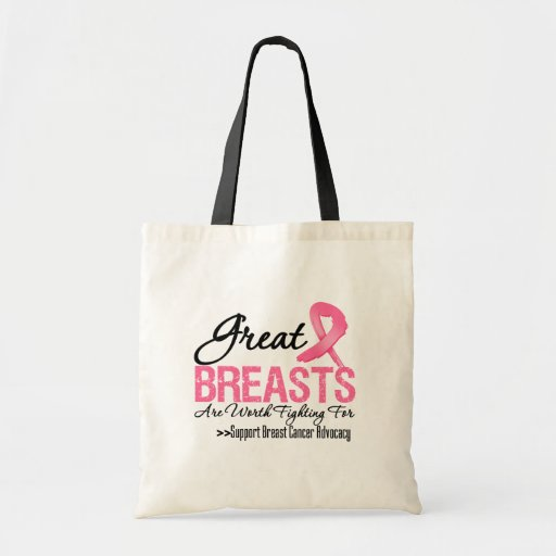 GREAT Breasts Are WORTH Fighting For (G2) Budget Tote Bag
