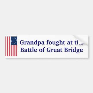 Great Bridge Bumper Sticker
