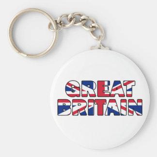 Great Britain 005 Keychain