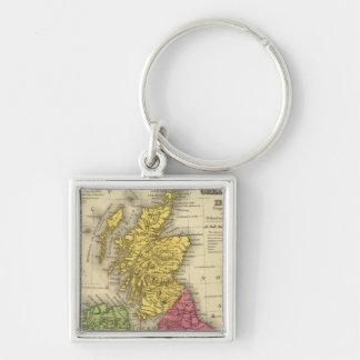 Great Britain and Ireland Keychain