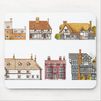 Great Britain. Countryside houses Mouse Pad