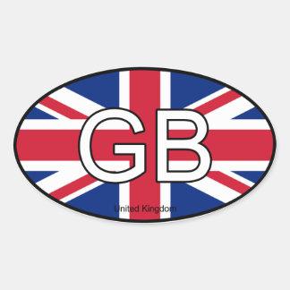 Great Britain Euro Sticker