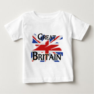 Great Britain - faded flag Baby T-Shirt