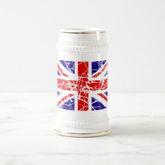 Great Britain Flag Beer Stein