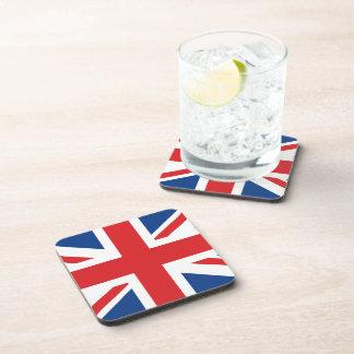 Great Britain Flag Beverage Coaster