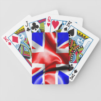Great Britain Flag Bicycle Playing Cards