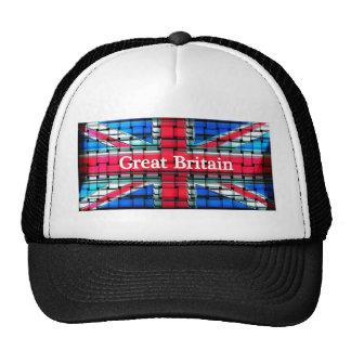 Great Britain flag design unique Trucker Hat
