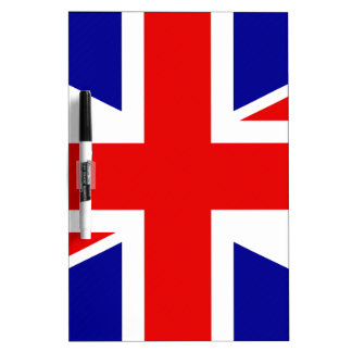 Great Britain Flag Dry-Erase Board