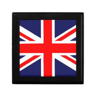 Great Britain Flag Trinket Boxes