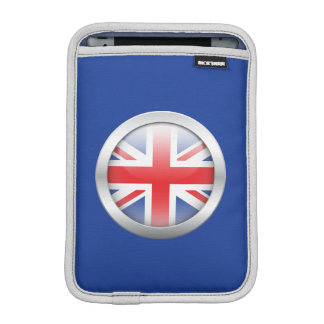 Great Britain Flag in Orb Sleeve For iPad Mini