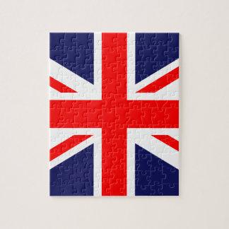 Great Britain Flag Puzzle