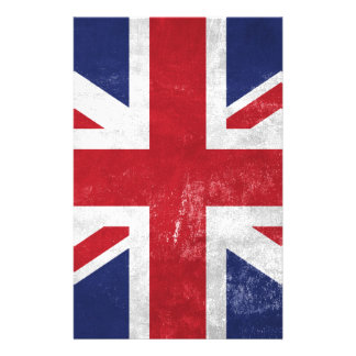 Great Britain Flag Stationery