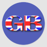 Great Britain Flag Stickers