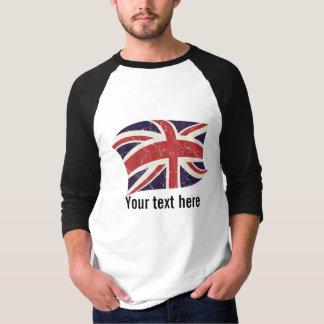 Great Britain flag T Shirt