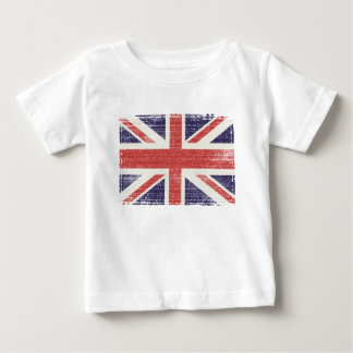 Great Britain flag vintage Baby T-Shirt