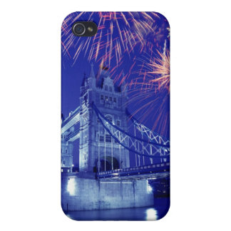 Great Britain, London. Fireworks over the Tower iPhone 4/4S Case