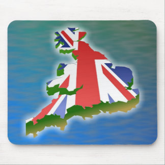 Great Britain Mouse Pad