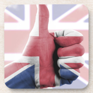 Great Britain National Flag Drink Coaster