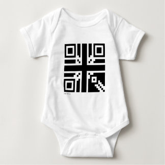 Great Britain QR Code Baby Bodysuit