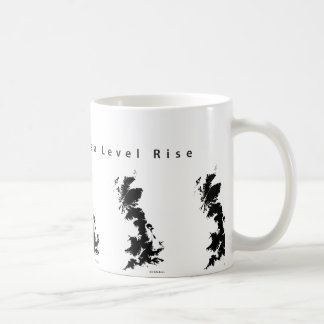Great Britain Sea Level Rise Mug