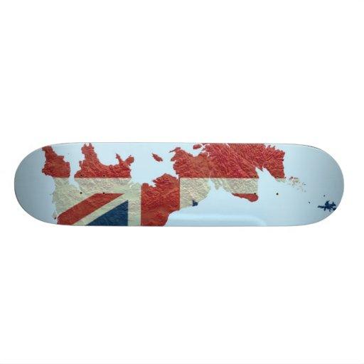 Great Britain Skateboard